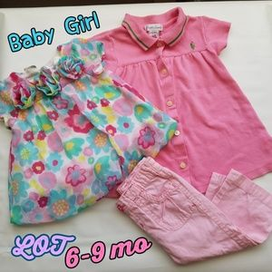 Baby girl small Lot size 6-9 mo